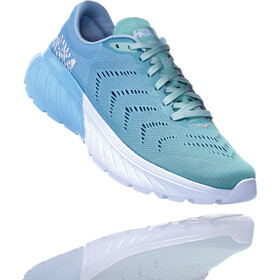 Hoka One One Mach 2 Running Shoes Women Aquamarine/Lichen